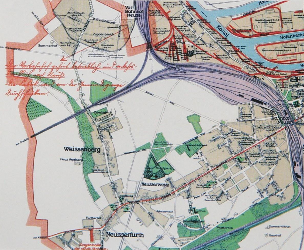 Stadtplan, 1928