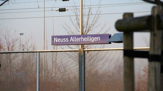 S-Bahn Haltepunkt in Allerheiligen