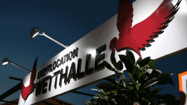 Foto: Eventlocation Wetthalle