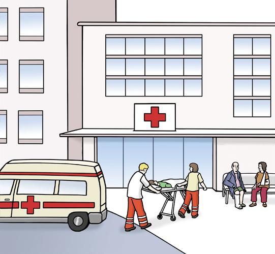 Kranken-Haus.