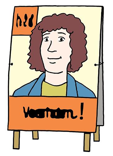 Wahl-Plakat.